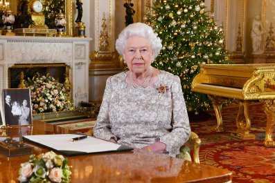 UK Queen Elizabeth II Christmas speech 2018
