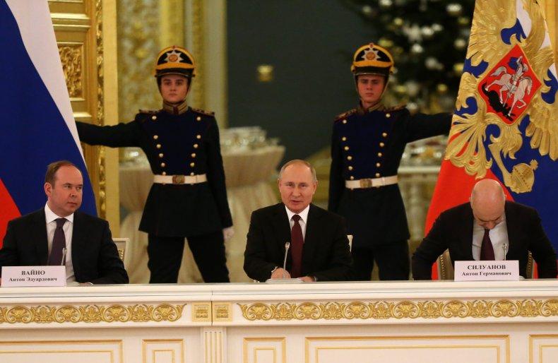 Putin Continues Defense of USSR