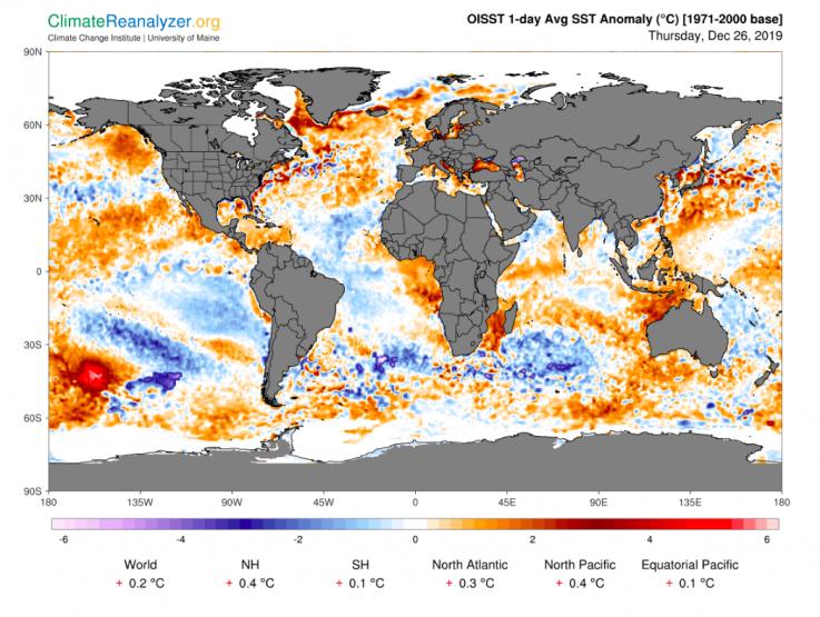 Global See Temperature
