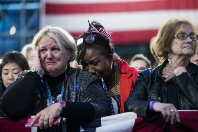 Clinton's 2016 Loss Shakes Supporters