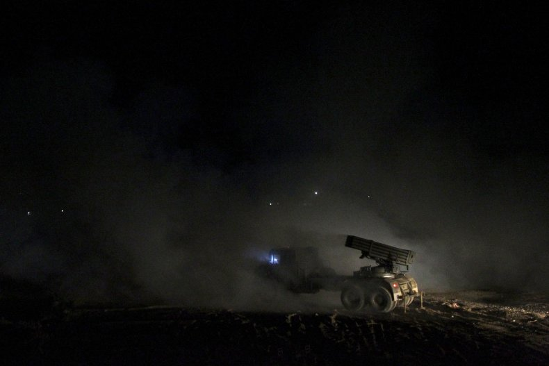 iraq, rocket, launch, syria, isis