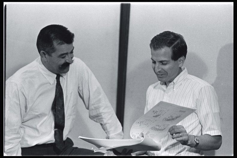 Lee Mendelson and Bill Melendez