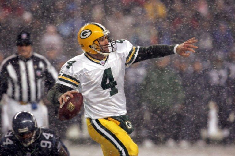 Brett Favre NFL Packers