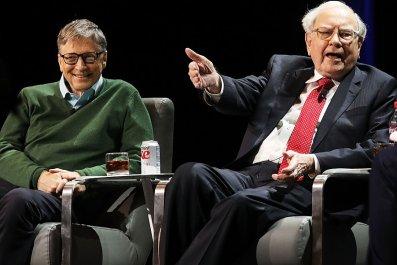 Bill Gates Warren Buffet