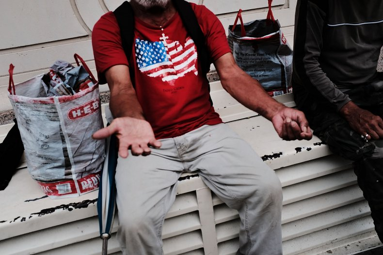 trump homeless california new york