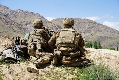 U.S. soldiers in Afghanistan