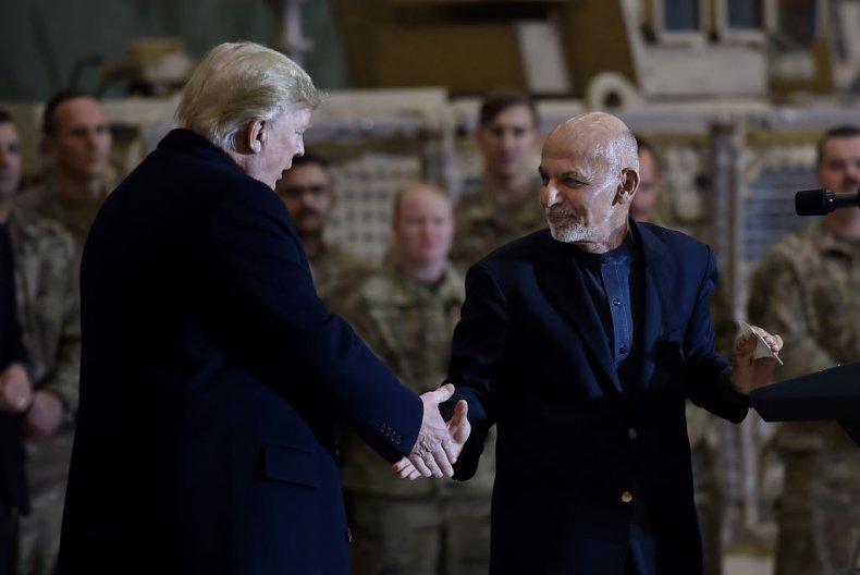 Trump and Ghani