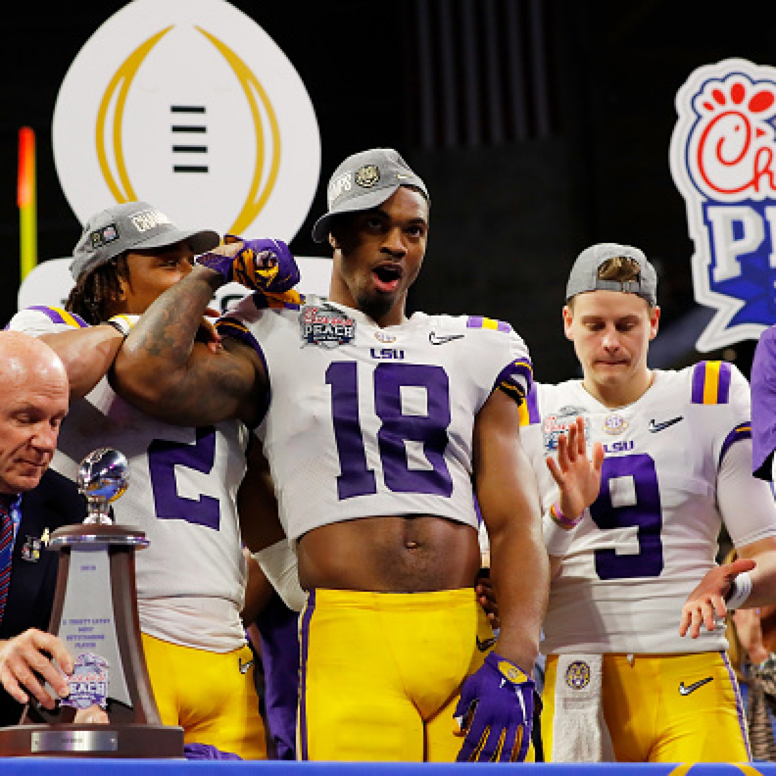 Who Won Lsu Or Clemson >> Lsu The Early Favorite Over Clemson In College Football