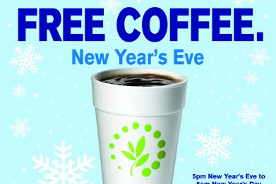 Free coffee Cumberlands