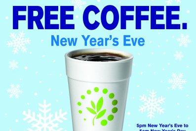Free coffee Cumberlands