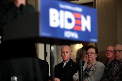 Opponents target Joe Biden Iraq War vote