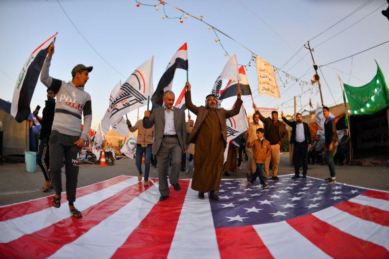iraq, protest, najaf, popular, mobilization, strikes