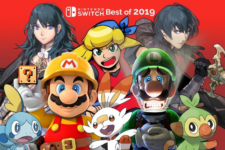 Top 5 Best Nintendo Switch Games Of 2019 Pokémon Fire Emblem More