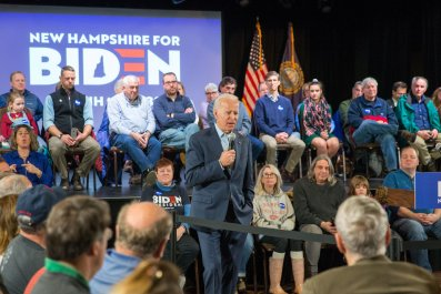 Joe Biden Holds Campaign Town Halls In New Hampshire