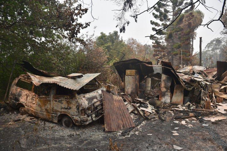 australia, wildfires