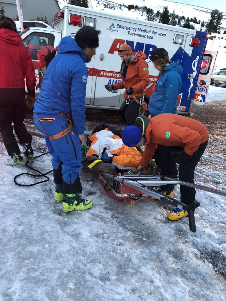 climber rescued