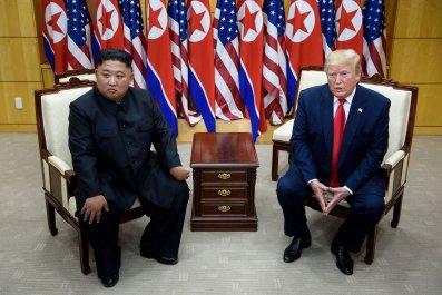 Kim Jong Un Donald Trump North Korea