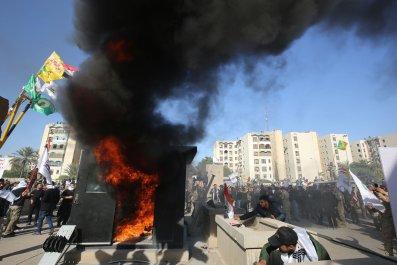 Iran Khamenei Trump Iraq embassy airstrikes