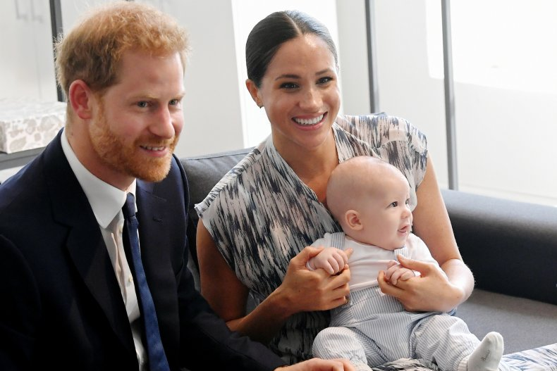 Prince Harry Meghan Markle Archie Sussex royal