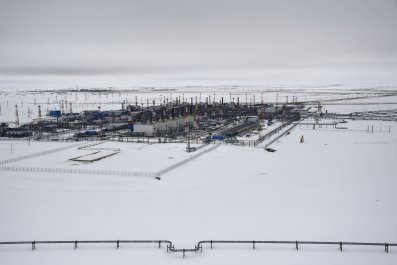 Russian gas field