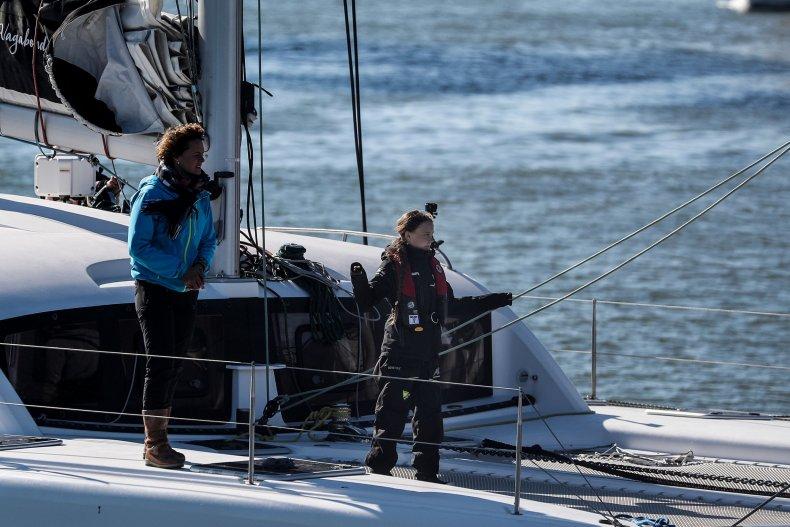Greta Thunberg Boat