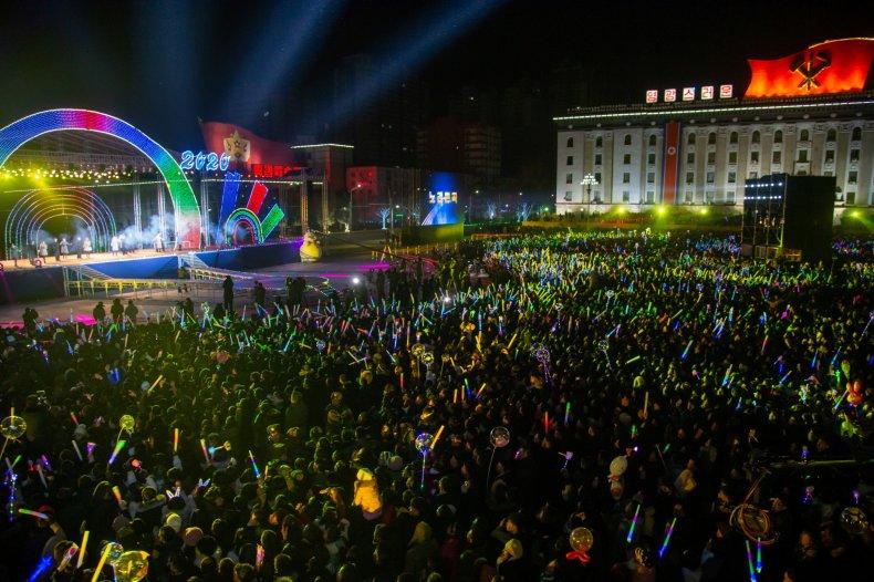 north, korea, new, years, party, pyongyang