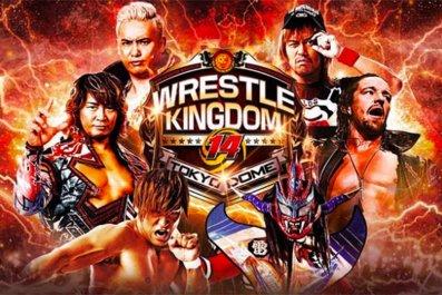 njpw wrestle kingdom 14 poster