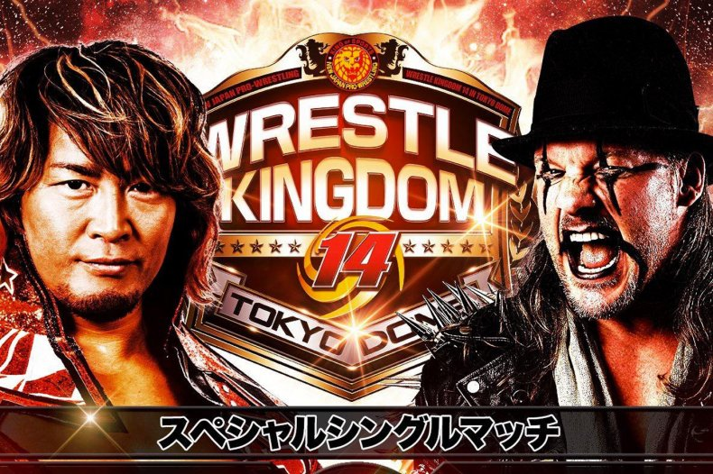 njpw wrestle kingdom 14 tanahashi chris jericho
