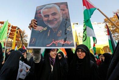 Iran General Strike Trump Qassem Soleimani