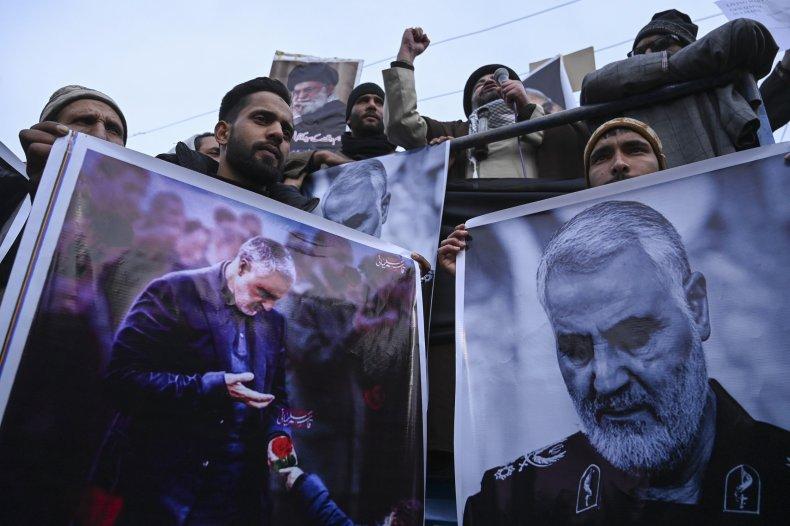 Qassem Soleimani, Esmail Ghaani, Iran, Assassination, Iran