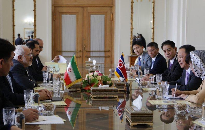 iran, north, korea, meeting, talks, tehran