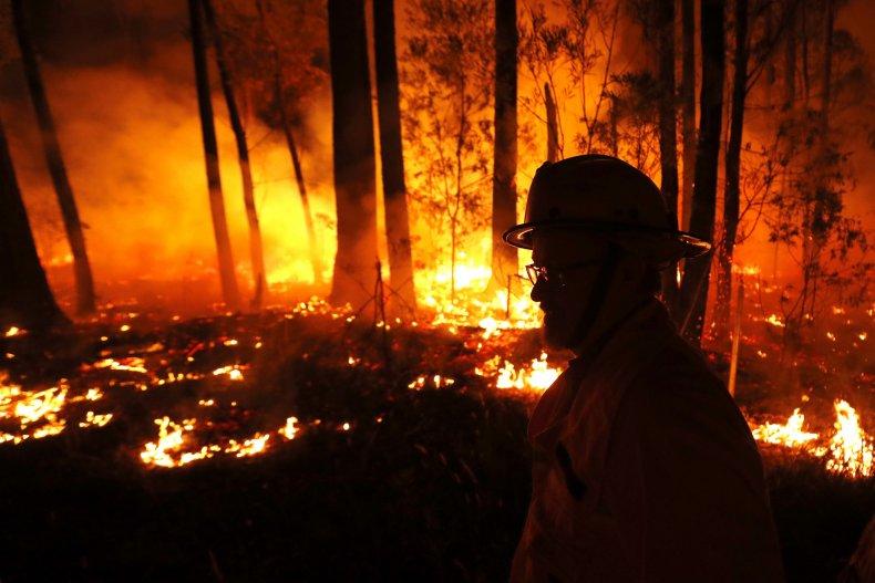 australia wildfire pictures