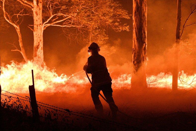 australia wildfire pictures photos devastation