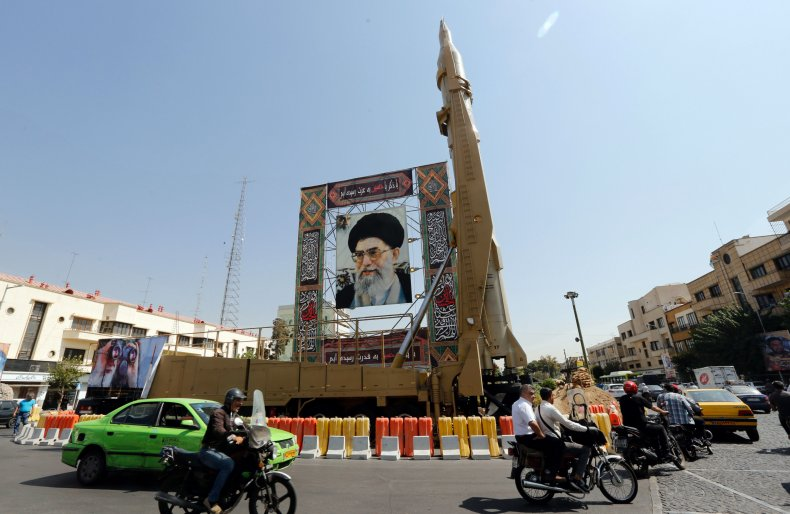 iran, missile, khamenei, tehran