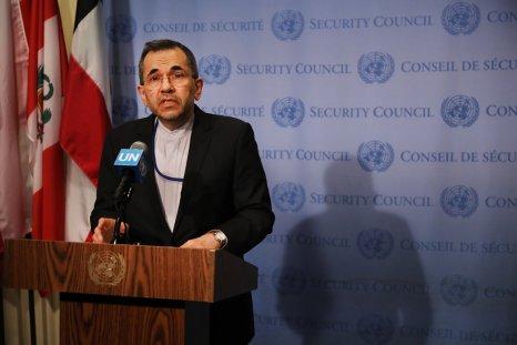Iran's UN Ambassador Majid Takht Ravanchi