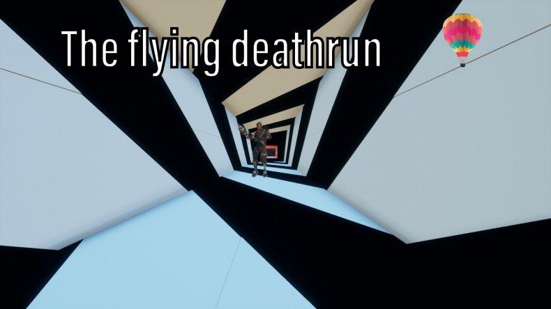 fortnite flying deathrun