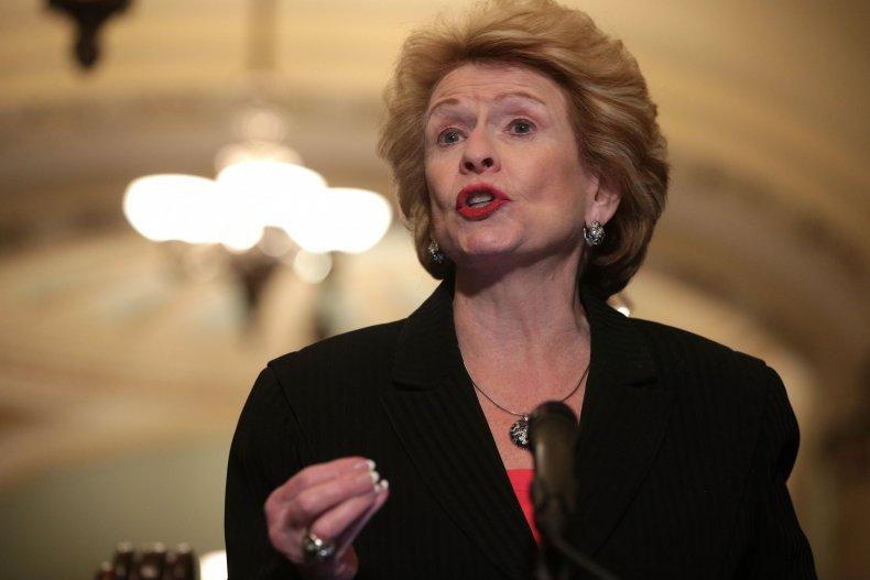 debbie stabenow democratic senator iran
