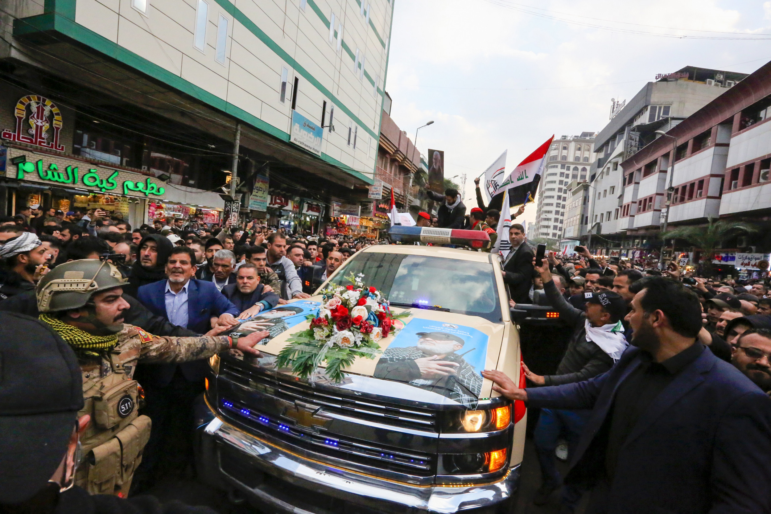 Funeral Procession for Soleimani Sees Thousands March ...