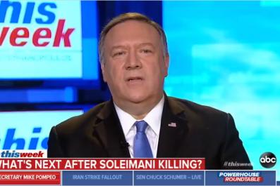 mike pompeo trump war iran