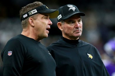 Sean Payton and Mike ZImmer