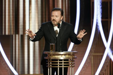 Golden Globes Ricky Gervais Opening Monologue jokes