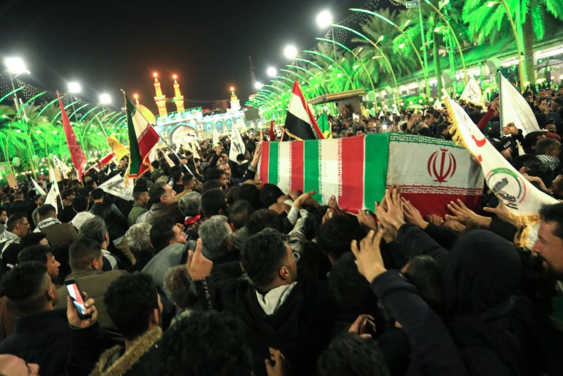Qassem Soleimani, Donald Trump, bounty, funeral