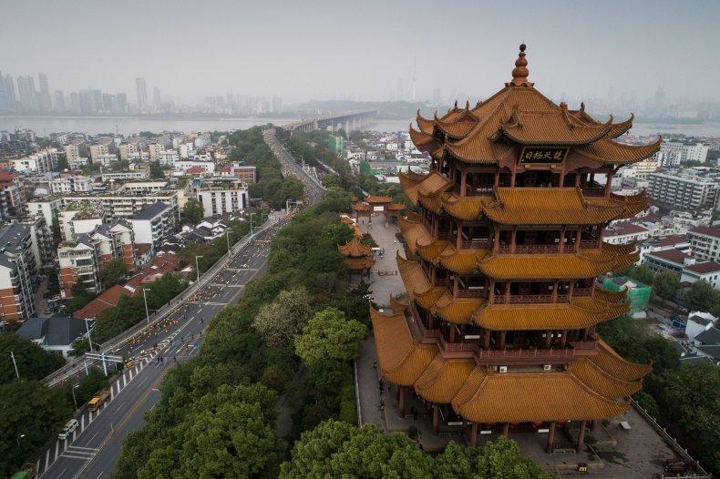 Wuhan, Yellow Crane Tower, Hubei province, china