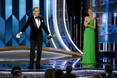 Tom Hanks at Golden Globes