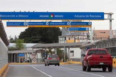 Reynosa-Hidalgo International bridge