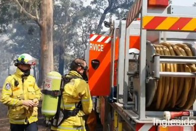 australia prime minister wildfires new south wales