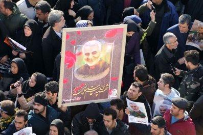 Mourners for Iran's Soleimani