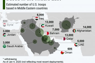 us, troops, middle, east, afghanistan, map, numbers