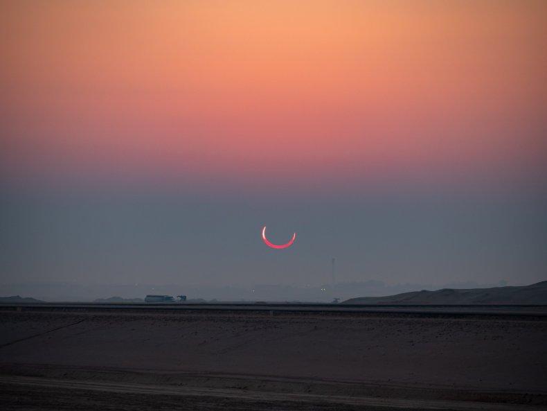 Solar Eclipse Saudi Arabia