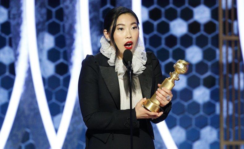 Awkwafina wins Golden Globe